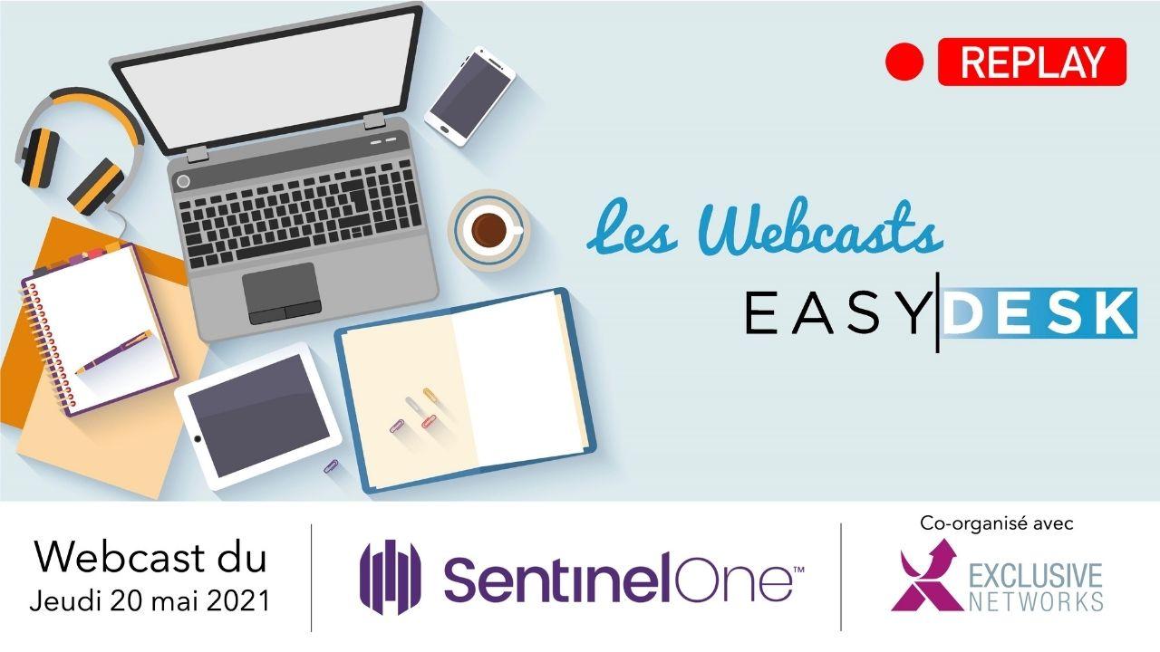 replay webcast : découvrez notre nouveau partenaire SentinelOne